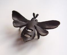 Hand Forged Bee Vermont Blacksmith by VermontBlacksmith on Etsy, $16.00
