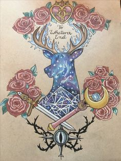 Okay not the Sailor Moon part but the ACOTAR and TOG parts! Yes! ACOTAR/ Throne of Glass/ Sailor Moon tattoo design @mscrystalbeard