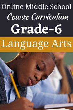Language Arts 1 explores several types of literature. Students will be expected to write essays, including a comparison-contrast essay. #languagearts #middleschool #onlinehighschool #grade6