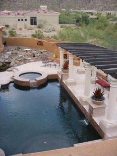 Upscale Poolscape