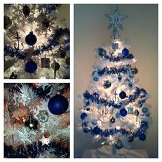 U S Navy tree.  My sailor son will not be home this Christmas , but he will be in our hearts.