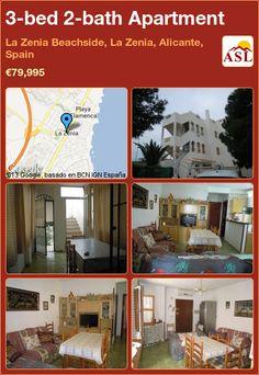 3-bed 2-bath Apartment in La Zenia Beachside, La Zenia, Alicante, Spain ►€79,995 #PropertyForSaleInSpain