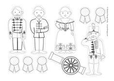 Letölthető ötletek | Piros Hungary Independence Day Activities, Diy And Crafts, Crafts For Kids, Doki, Projects For Kids, Folk Art, Techno, Kindergarten, Embroidery