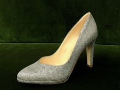 9b0c5b10beca5b Glamour Pumps von Peter Kaiser  pumps  shoes  silver  blingbling   glitzerschuhe
