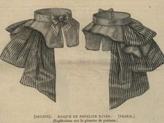 MADE TO ORDER Black and White Striped Circus Caberet Steampunk Victorian Cincher Bustle Skirt; great idea for costume