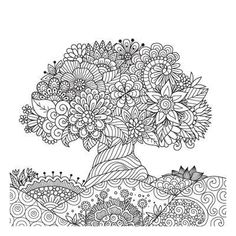 Abstract Coloring Pages, Detailed Coloring Pages, Adult Coloring Book Pages, Printable Adult Coloring Pages, Mandala Coloring Pages, Christmas Coloring Pages, Coloring Pages To Print, Coloring Books, Coloring Pages Nature