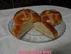 Tertúlia da Susy: Folar de ovos Portuguese Recipes, Portuguese Food, Algarve, Bread, Portugal, Pastries, Portuguese Desserts, Other Recipes, Eggs