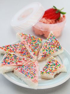 Strawberry Fairy Bread | 17 Fairy Bread-Inspired Recipes That Will Take You Back To Your Childhood