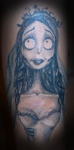 Corpse Bride tattoo
