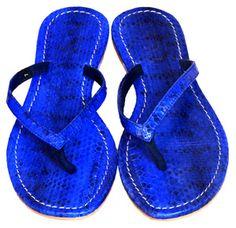 Mystique dark blue sandals