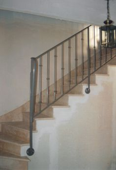 5 x balusters//balastrade//broches//escalier en fer forgé sur mesure finition noir