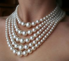 This would be a nice Christmas gift too! - pearl necklace :)