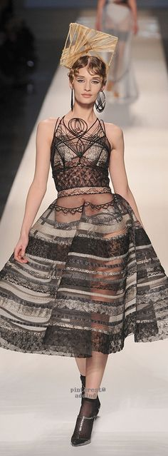 Jean Paul Gaultier, Spring/Summer 2009,  Couture