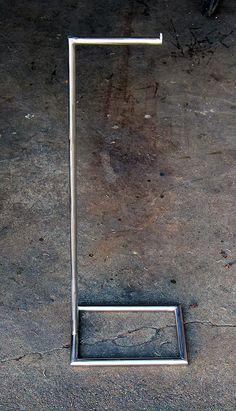 Freestanding Toilet paper holder, TP Holder, Floor standing Toilet Paper Holder by studioandolina on Etsy