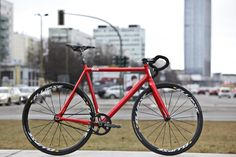 A red 8bar fixie...