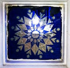 Victorian glass tile