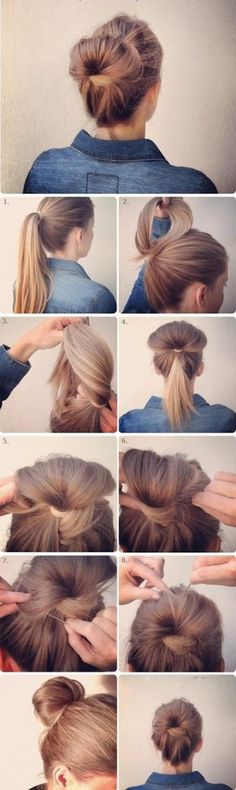 Alternative beam  14 hairstyles that can be done in 3 minutes