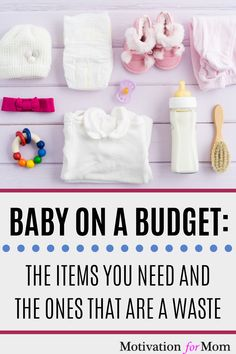 If you're preparing for having a baby on a budget, don't miss out on this list of what you DO and DON'T need for a new baby. Plus some bonus tips on even more ways to save money having a baby! It's possible to have a baby on a tight budget with these tips. #babyonabudget #savemoneyonbaby #newbaby #whatyouneedforbaby #babychecklist Baby Shower Items, Baby On A Budget, Baby Checklist, Mummy Bloggers, Preparing For Baby, First Pregnancy, First Time Moms, Tight Budget, Baby Needs