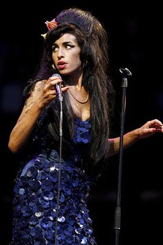Amy Winehouse [photo Everett Collection/Rex Features]
