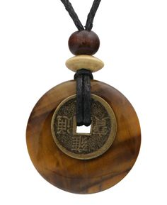 Good Luck Jewelry | I Ching Jewelry | Tiger Eye Necklace