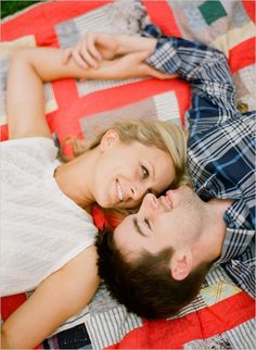 engagement shoot with the same look and feel as our wedding. love!