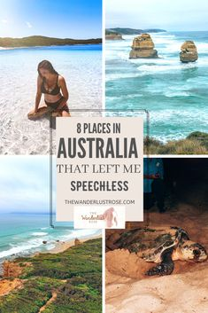 As I reflect on my last month road tripping Australia, there are some places I can't get off my mind. Here's a list of 8 places that left me speechless! Australia Destinations, Australia Travel Guide, Australia Places To Visit, Australia Visa, Coast Australia, Australia Trip, Cairns Australia, Cool Places To Visit, Places To Travel