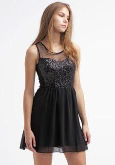 Even&Odd Vestito elegante - black - Zalando.it
