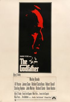 The Godfather (1972) Original Linen-Backed English One-Sheet Movie Poster