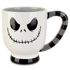 NEW DISNEY Jack Skellington Large Coffee Mug NIGHTMARE BEFORE CHRISTMAS