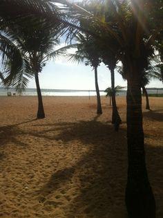 Praia do Cabo Branco em João Pessoa, PB