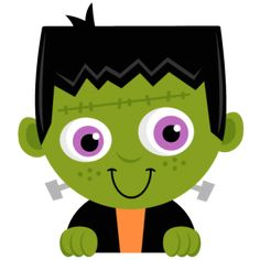 Daily Freebie Miss Kate's Cuttables--Peeking Frankenstein SVG scrapbook title SVG cutting files crow svg cut file halloween cute files for cricut cute cut files free svgs Fun Halloween Treats, Theme Halloween, Halloween Rocks, Halloween Pictures, Halloween Cards, Holidays Halloween, Happy Halloween, Halloween Clipart Free, Halloween Templates