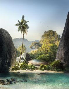 Lagoon by Thomas Dubois | Architecture | 3D | CGSociety
