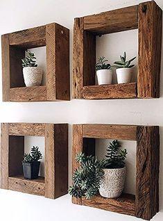 to make a succulent terrarium projects Diy Wood Projects, Home Projects, Diy Furniture Table, Diy Design, Farmhouse Decor, Diy Home Decor, Diy Decoration, Decorations, Sweet Home