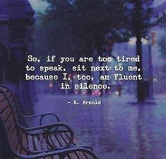 Image result for so, if you are too tired to speak