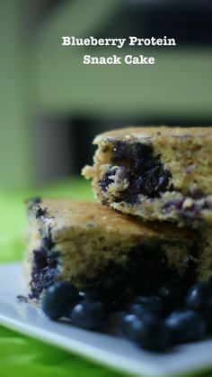 Blueberry Protein Cake - can sub any fruit