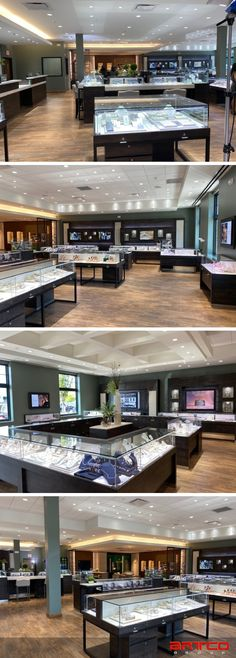 Manufacture & Design of #Storefixtures by Artco Group. We are Superior in Design & Craftsmanship. #Jewelers #JewelryStoredesign #Storedesign #MurphyJewelers