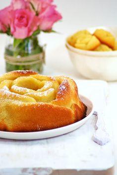 Food and Cook by trotamundos » LEMON BOUQUET ROSES CAKE Y FLAN DE LECHE CONDENSADA (Bizcocho de limón con jarabe de limón)
