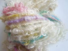 Ravelry: LauraSpinner's Rainbow Twist Handspun Lock Spun/Tail Spun