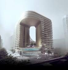 Resultado de imagen de fachada edificio residencial diferente entretenida