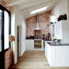Love this little space ~ does it inspire you? #Rustic, yet #Refined!
