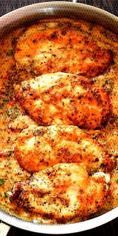 #deliciousrecipe #chickenrecipes #cookingrecipe #d... Italian Chicken Breast, Italian Chicken Pasta, Orange Chicken Crock Pot, Parmesan Cheese Sauce, Slow Cooker Chicken Healthy, Chicken Crust Pizza, Creamy Chicken And Rice, Chicken Taco Recipes, Spinach Stuffed Chicken