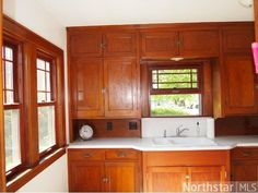 Beautiful original kitchen cabinets,1926 Bungalow - Wayzata, MN