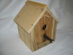 cedar siding birdhouse 2