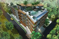 Brand New Offplan Condo for Sale in Karon Beach. One bedroom units start from 2.885.380 THB goes up to 4 Million Baht depending on its size and location in the building.