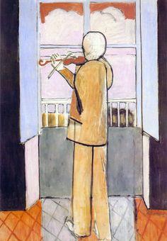 Violinista alla finestra - Matisse