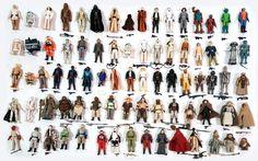 Set Of The 79 Back Original Star Wars Action Figures DEC 31, 2016