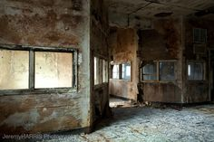 Nurses Station.  Harlem Valley State Hospital - It's so eerie, but can you imagine the stories?