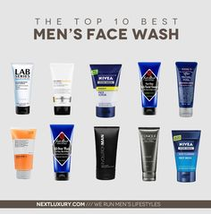 The Top Ten Best Men's Face Wash For 2013. http://nextluxury.com/mens-health-and-fitness/a-discovery-of-the-best-mens-face-wash-for-2013/