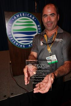Here are the winners at the 2013 ICAST New Product Showcase. Photo by Brad Wiegmann Outdoors. http://www.bradwiegmann.com/bass-professionals/61-bass-tx-news/1084-new-product-showcase-at-icast-2013.html