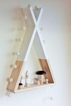 Casa de ideias e decoração: Ideias para usar nichos triangulares na decoração